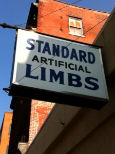 Standard Artificial Limbs