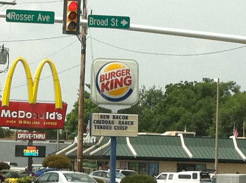 McDonald-Burger King