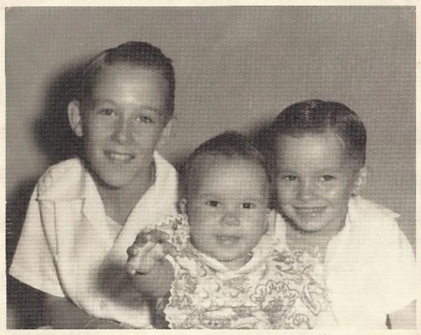 Don, Jean, Garrett, San Francisco, 1957