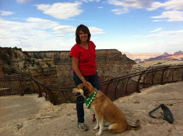 Jean Whatley and Libby - Grand Canyon