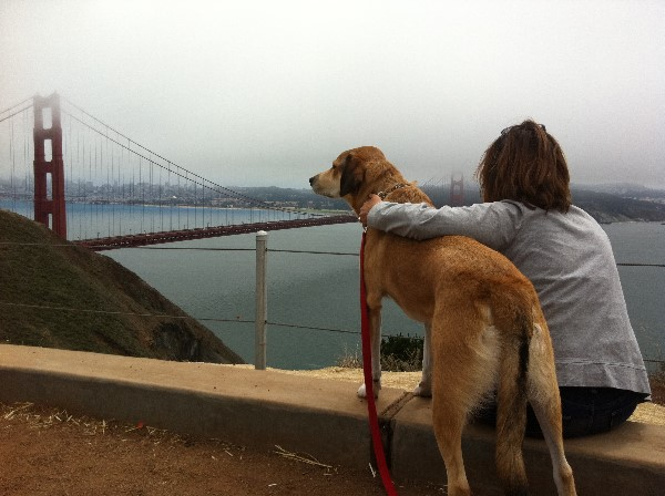 Jean and Libby in San Francisco