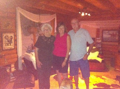 My cousin Shirley, me and Benny, Graford, Texas