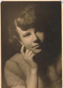 My mom, Beverly