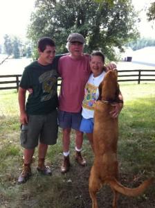 Shepherds at the Farm