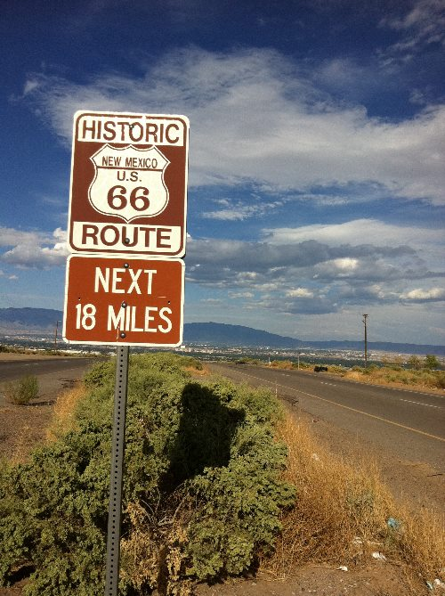 Route 66 - New Mexico