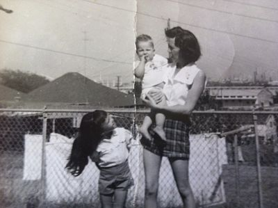 Jean, her mom and J.R.
